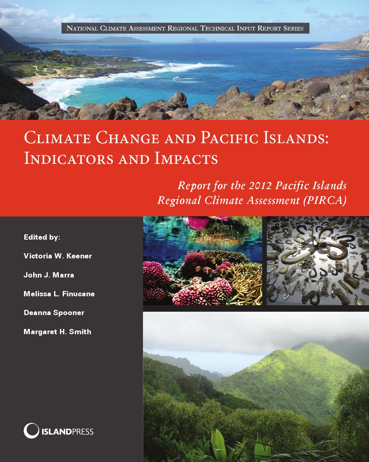 Climate Change And Pacific Islands Indicators And Impacts