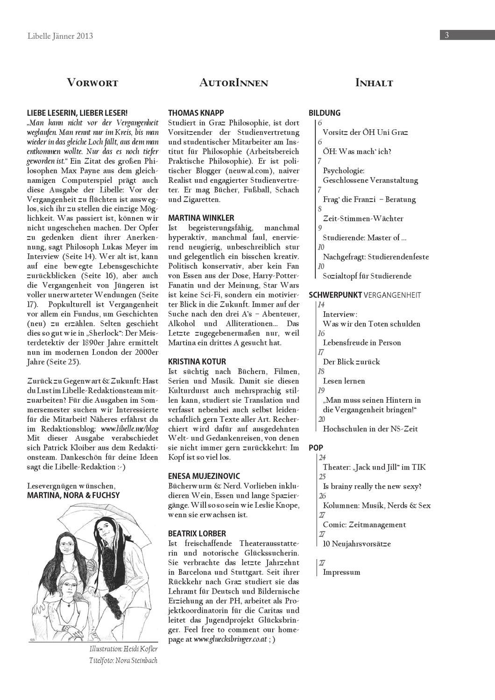 Libelle Jänner 2013 by OEH UNIGRAZ issuu