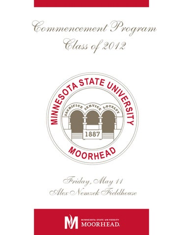 Msum commencement spring 2012 by msu moorhead issuu page 1 stopboris Gallery