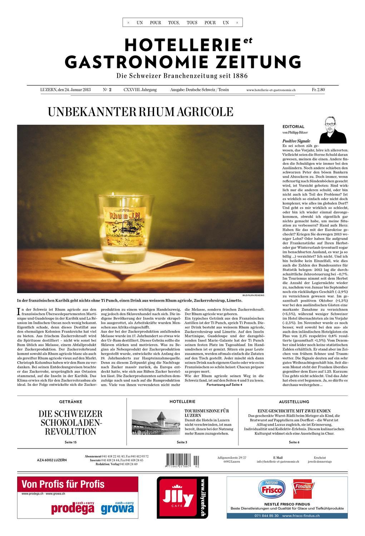HetG-Zeitung 2/2013 by Hotellerie_Gastronomie_Verlag - issuu