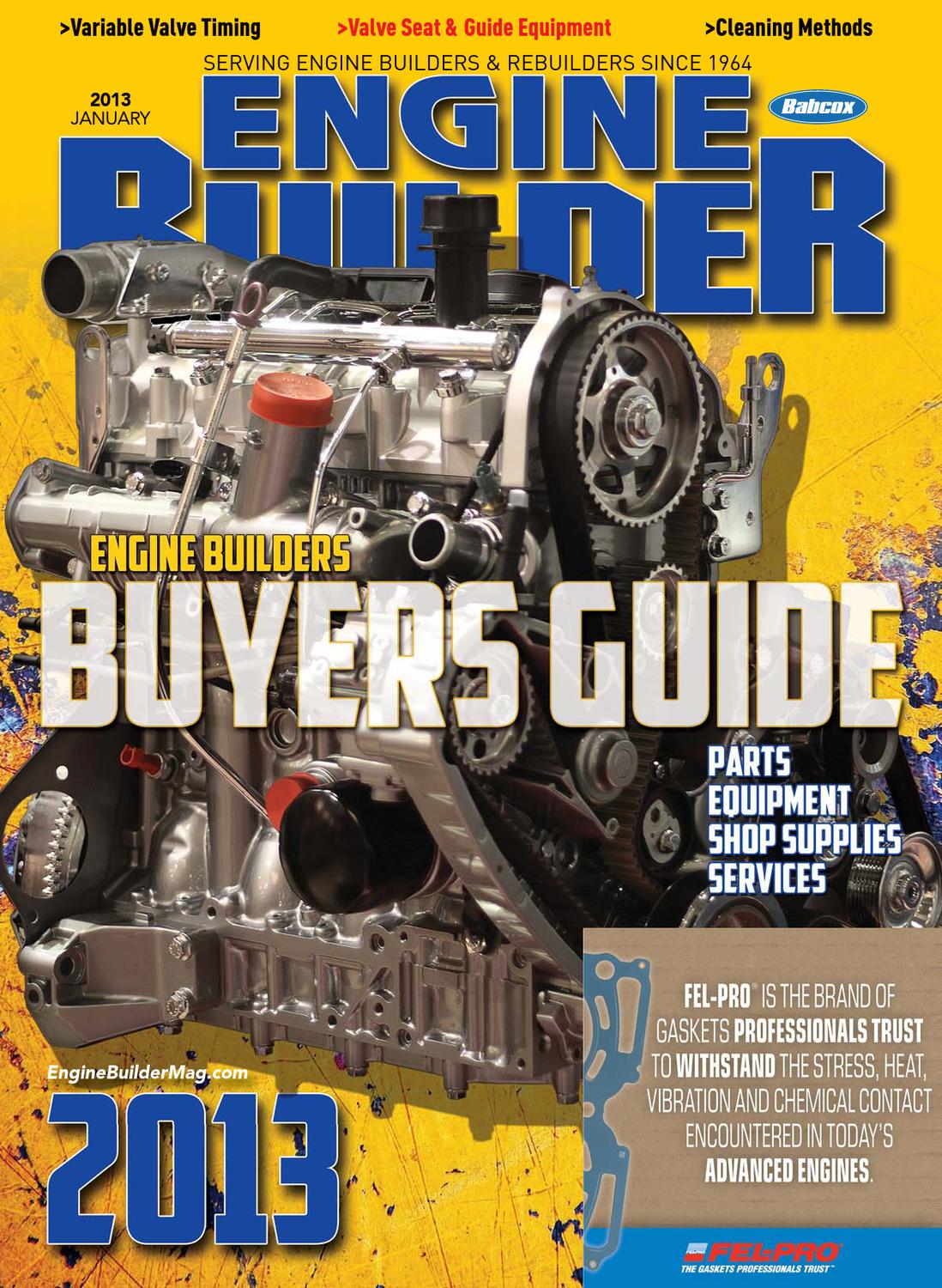 Engine Builder Buyers Guide By Babcox Media Issuu Lincoln Sa 200 Idler Solenoid