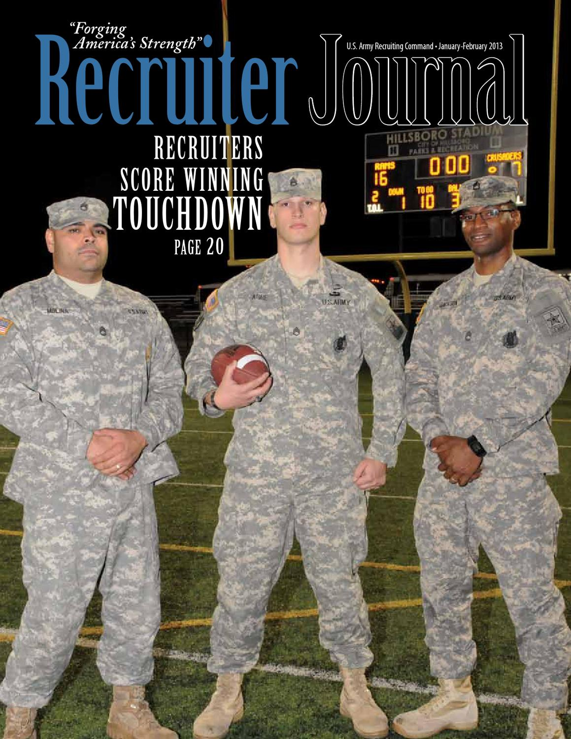Recruiter journal january february 2013 by us army recruiting recruiter journal january february 2013 by us army recruiting command issuu nvjuhfo Images