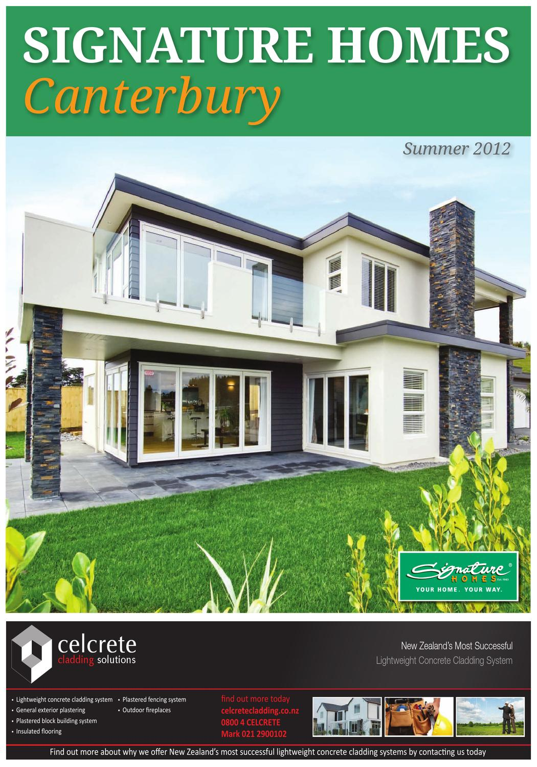 Signature homes by waterford press limited issuu for Home signature
