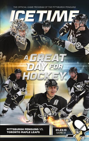 28c7e917e31 IceTime: Penguins vs. Maple Leafs (1/23/13) by Pittsburgh Penguins ...