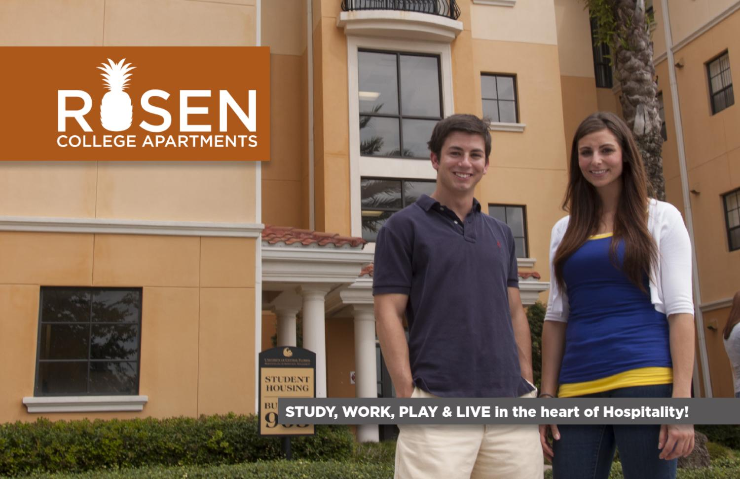 Rosen College Apartments By Ucf Department Of Housing And Residence Life Issuu