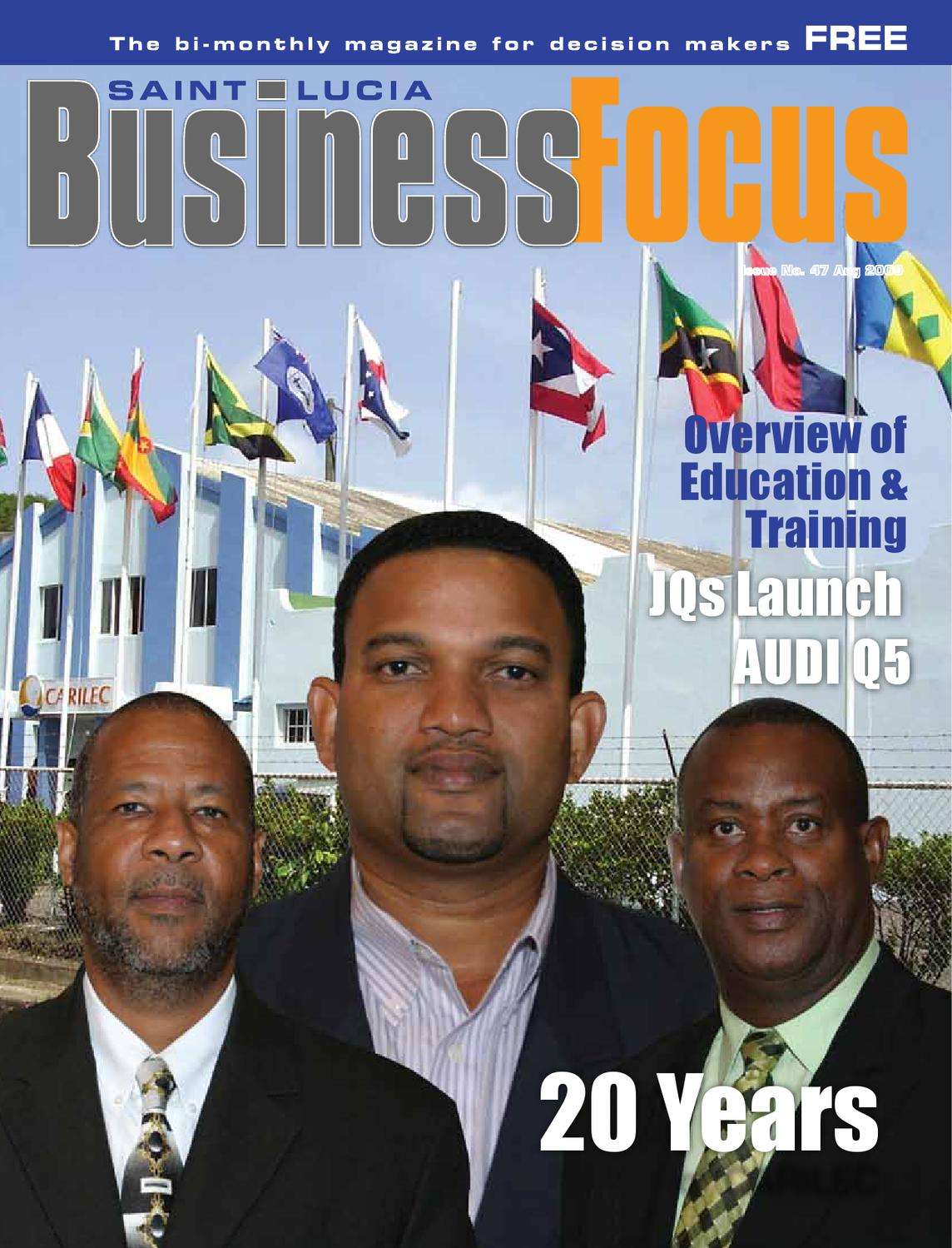 St lucia business focus 47 by ams st lucia issuu malvernweather Gallery