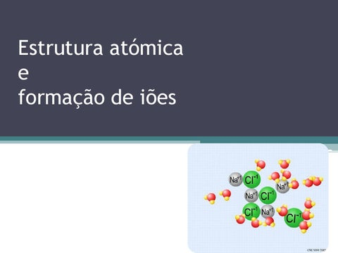 Estrutura Do átomo E Formação De Iões By Catarina Caseiro