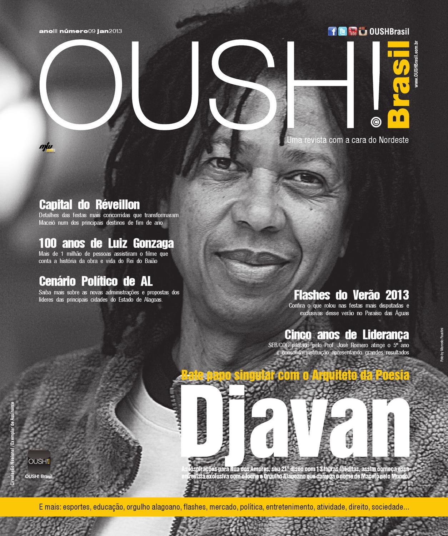 Revista OUSH! Brasil - Capa Djavan - Ano III Edição 09 Jan 2013 by Revista  OUSH Brasil - issuu 858bb2705a1a1
