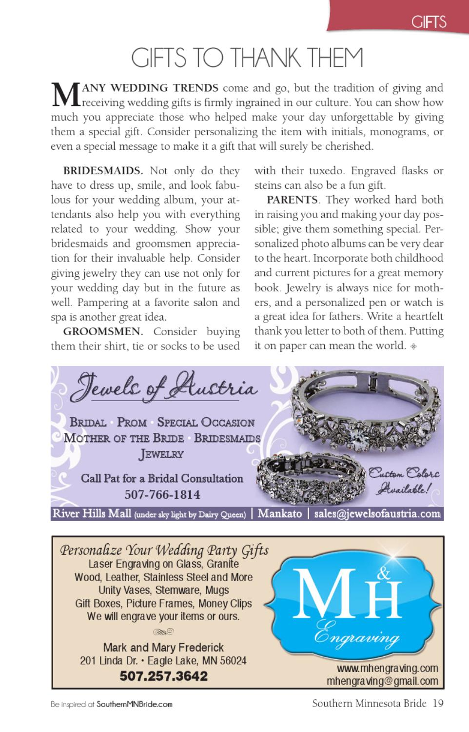 Southern Minnesota Bride Magazine 2013 By Evergreen Media Issuu
