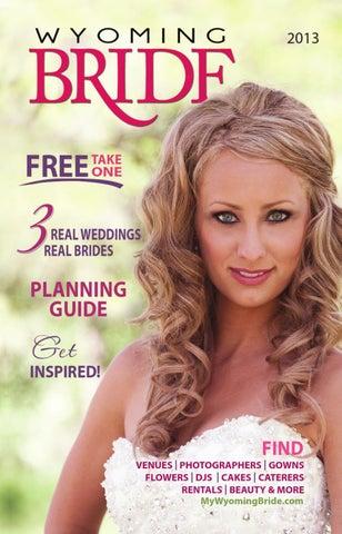 Wyoming Bride Magazine - 2013 by Evergreen Media - issuu 255d885c6