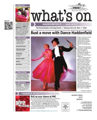 Whats on haddonfield 520 by david hunter issuu page 1 malvernweather Choice Image
