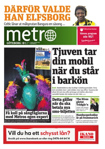 20130125 se goteborg by Metro Sweden - issuu c61c536b71cd7