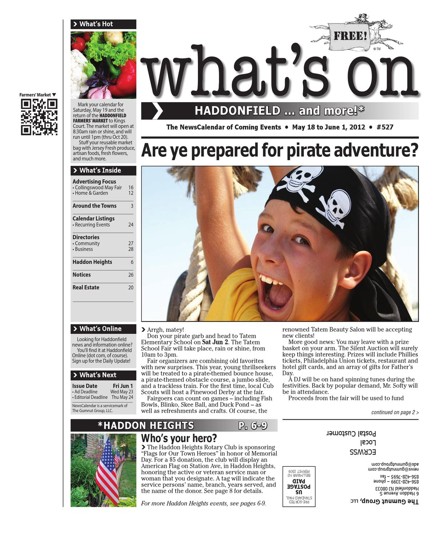 Whats on haddonfield 527 by david hunter issuu malvernweather Choice Image