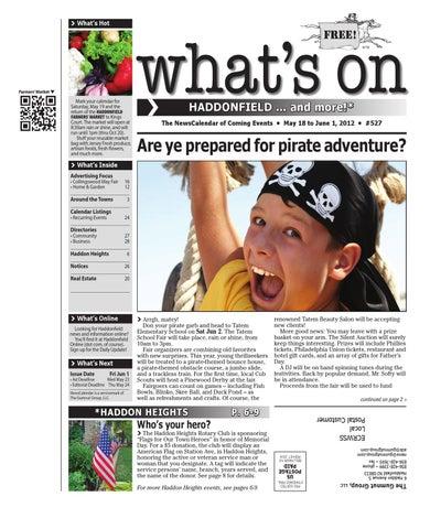 Whats on haddonfield 527 by david hunter issuu page 1 malvernweather Choice Image