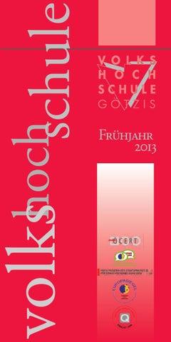 Programm Volkshochschule Götzis by Marktkraft - issuu