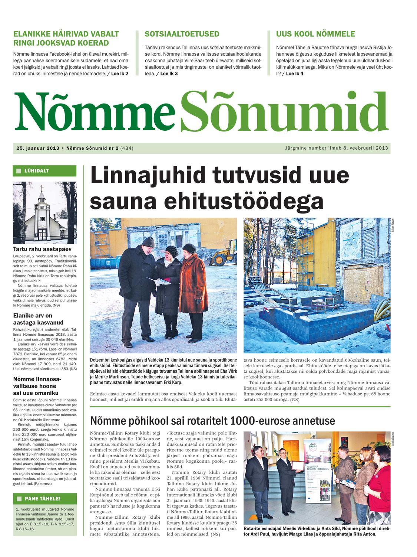 1287639a20a Nõmme Sõnumid nr 2 (2013) by Nõmme linnaosa - issuu
