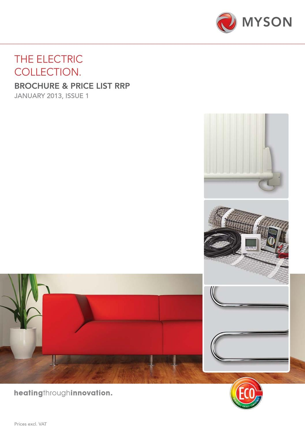 Myson Electric Collection Brochure And