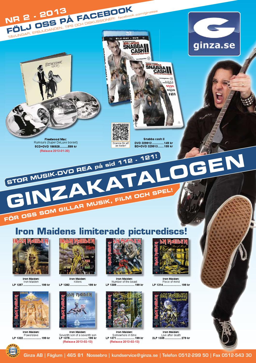 outlet store b0edb b1dc2 Ginzakatalogen nr 2 2013 by Ginza AB - issuu