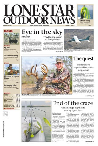 January 25, 2013 - Lone Star Outdoor News