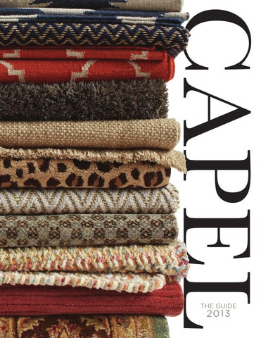 Capel Rug S 2016 Catalog By Rugs