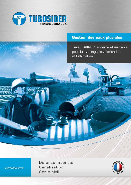 Documentation tubosider by oceane lopez issuu for Genie des eaux