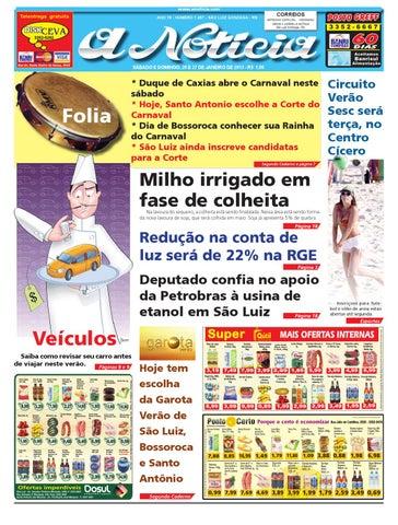 dea81e37dee Edição de 26 e 27 de janeiro de 2013 by Jornal A Notícia - issuu
