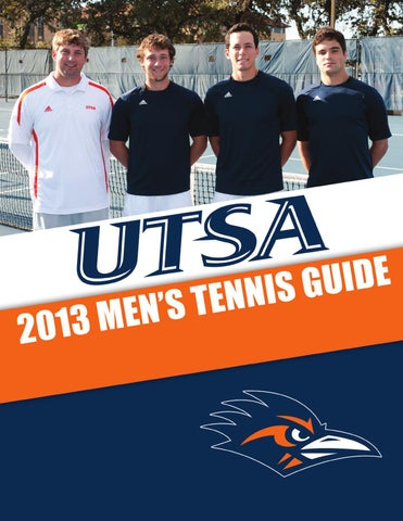 ff7f812ca 2013 UTSA Men s Tennis Media Guide by UTSA Athletics Communications ...