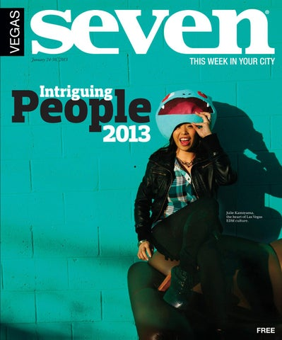 Intriguing People 2013 By Vegas Seven Issuu