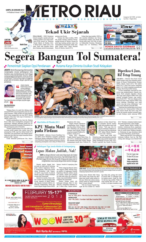 26113 By Harian Pagi Metro Riau Issuu Produk Ukm Bumn Kain Batik Middle Premium Sutera