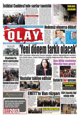 26 01 2013 Gazete Sayfalari By Diyarbakir Olaygazetesi Issuu