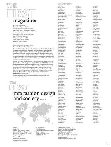 The First Eighteen By Parsons School Of Fashion Issuu