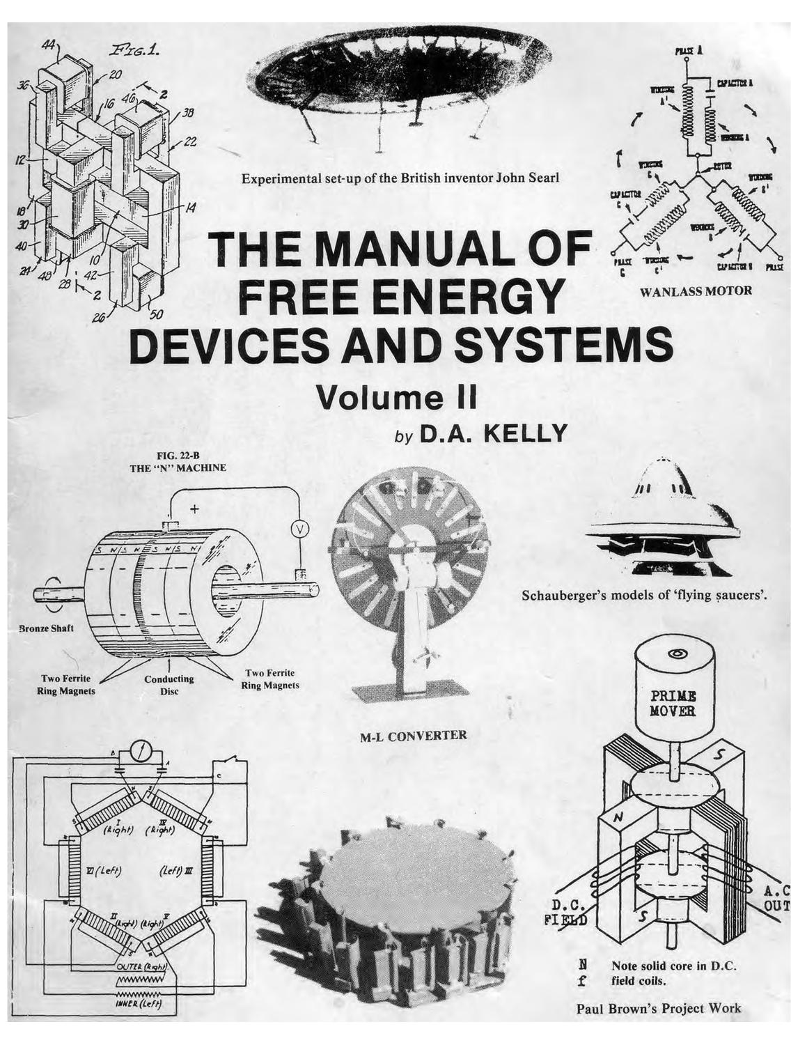 The Manual of Free Energy Devices and Systems by Adrian