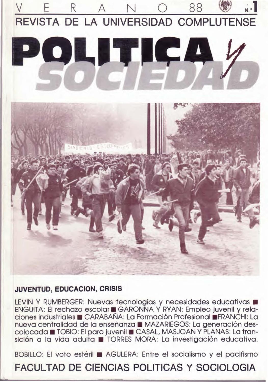 Juventud, educación, crisis by Mariano Fernández Enguita - issuu