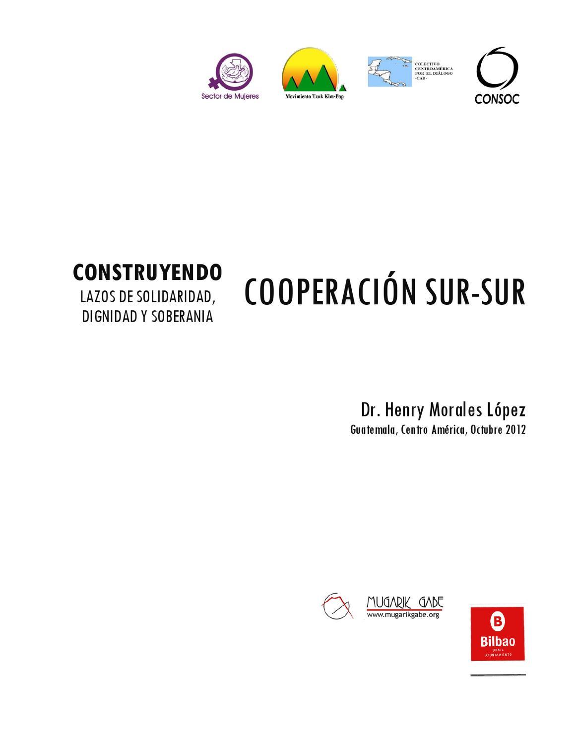 Libo Cooperación Sur-sur by Mugarik Gabe ONG - issuu