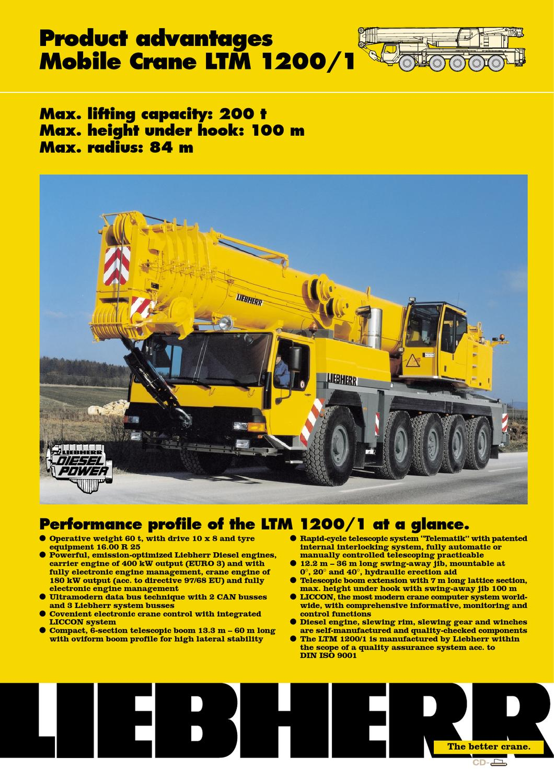 liebherr 200t crane load chart pdf