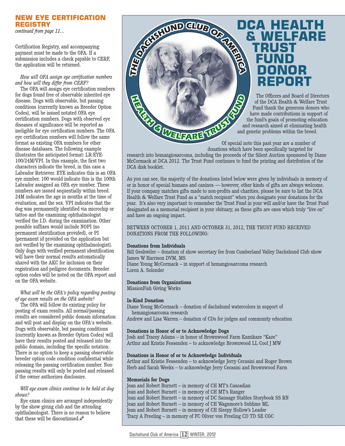 Winter 2012 dca newsletter by lynne dahlen issuu 1betcityfo Image collections