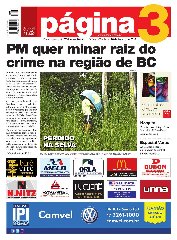 db0b4b3e7b036 Jornal Página3 - edição 1124 by Jornal Página3 - issuu