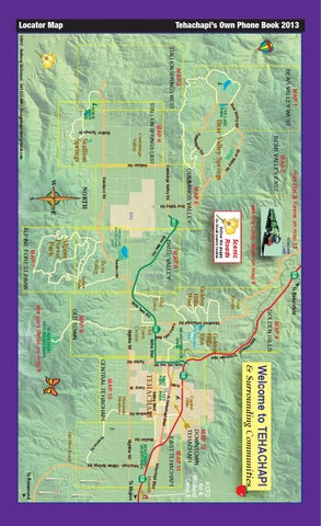 Tehachapi s Own Phone Book Maps by Tehachapi News issuu