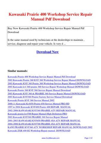 kawasaki fx751v fx801v fx850v 4 stroke air cooled v twin gasoline engine workshop service repair manual download