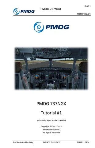 PMDG Boeing 737NGX [Tutorial 1] by Thamer Alahaimer - issuu