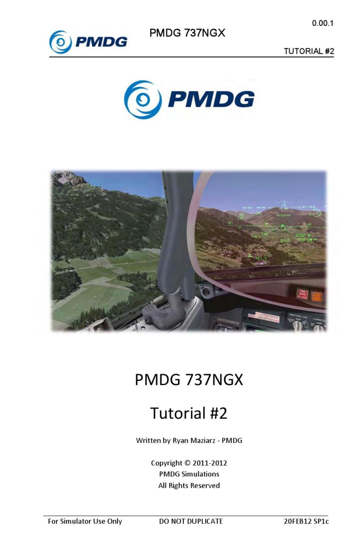 PMDG Boeing 737NGX [Tutorial 2] by Thamer Alahaimer - issuu