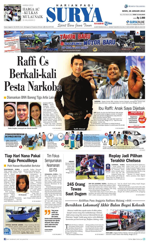 E-paper Surya Edisi 28 Januari 2013 by Harian SURYA - issuu 9f12e89379