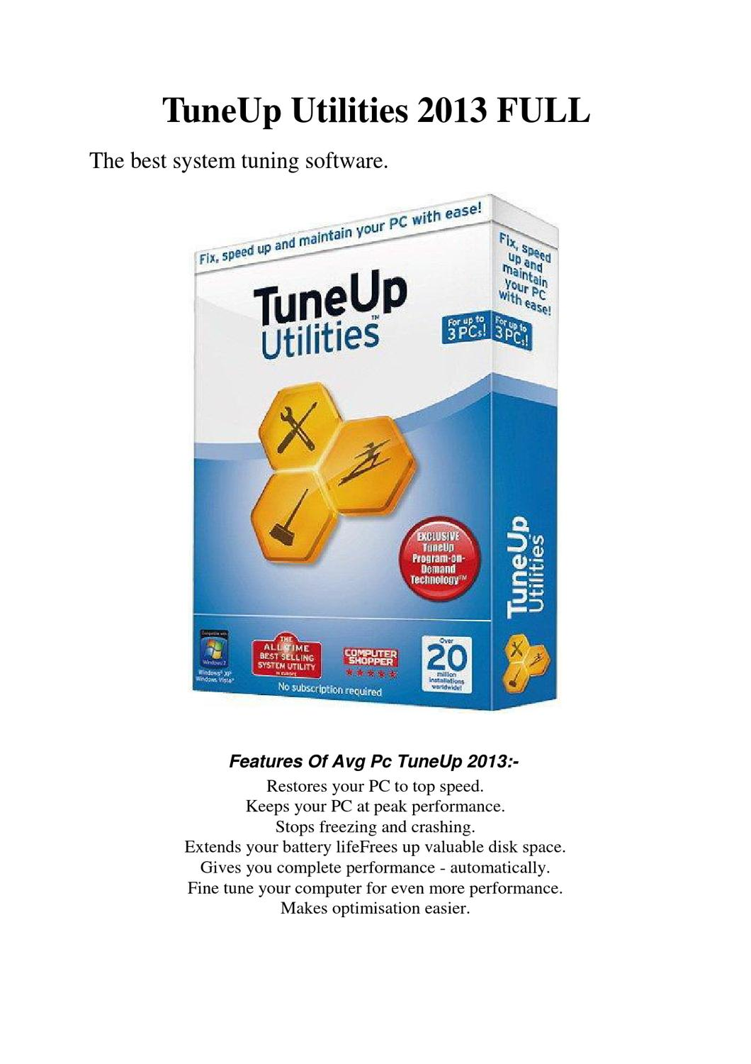 tuneup utilities 2013 product key