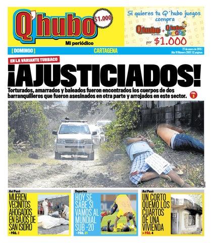 Q Hubo Cartagena 27 De Enero De 2013 By Editora Del Mar Issuu