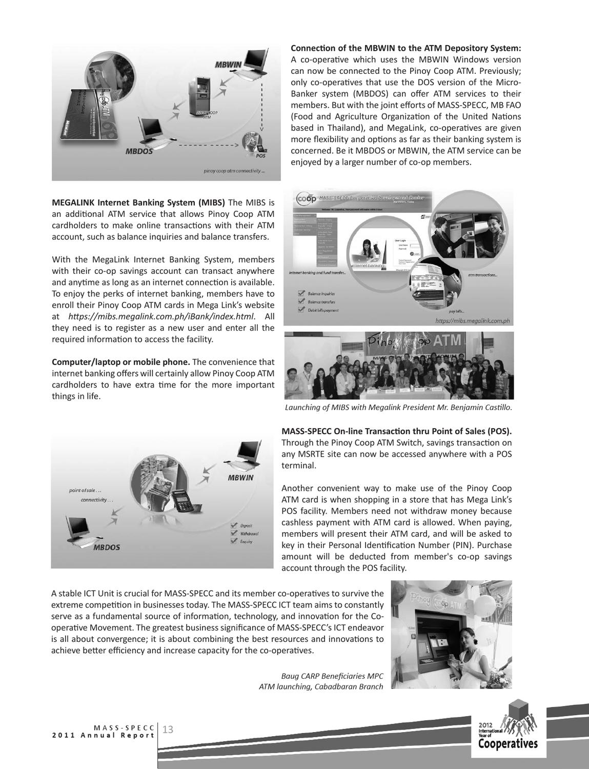 Annual Report 2012 by MASS-SPECC Cooperative - issuu