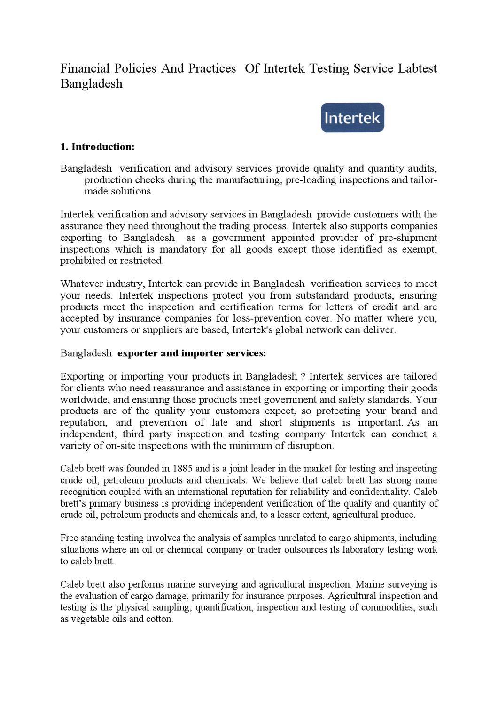 intratek testing services by regan ahmed - issuu
