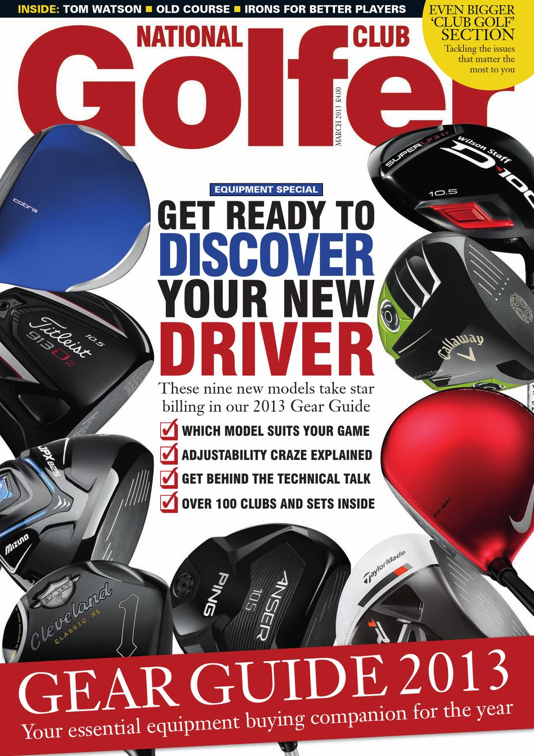 on sale 08a62 74919 National Club Golfer March 2013 Issue by Sports Publications - issuu