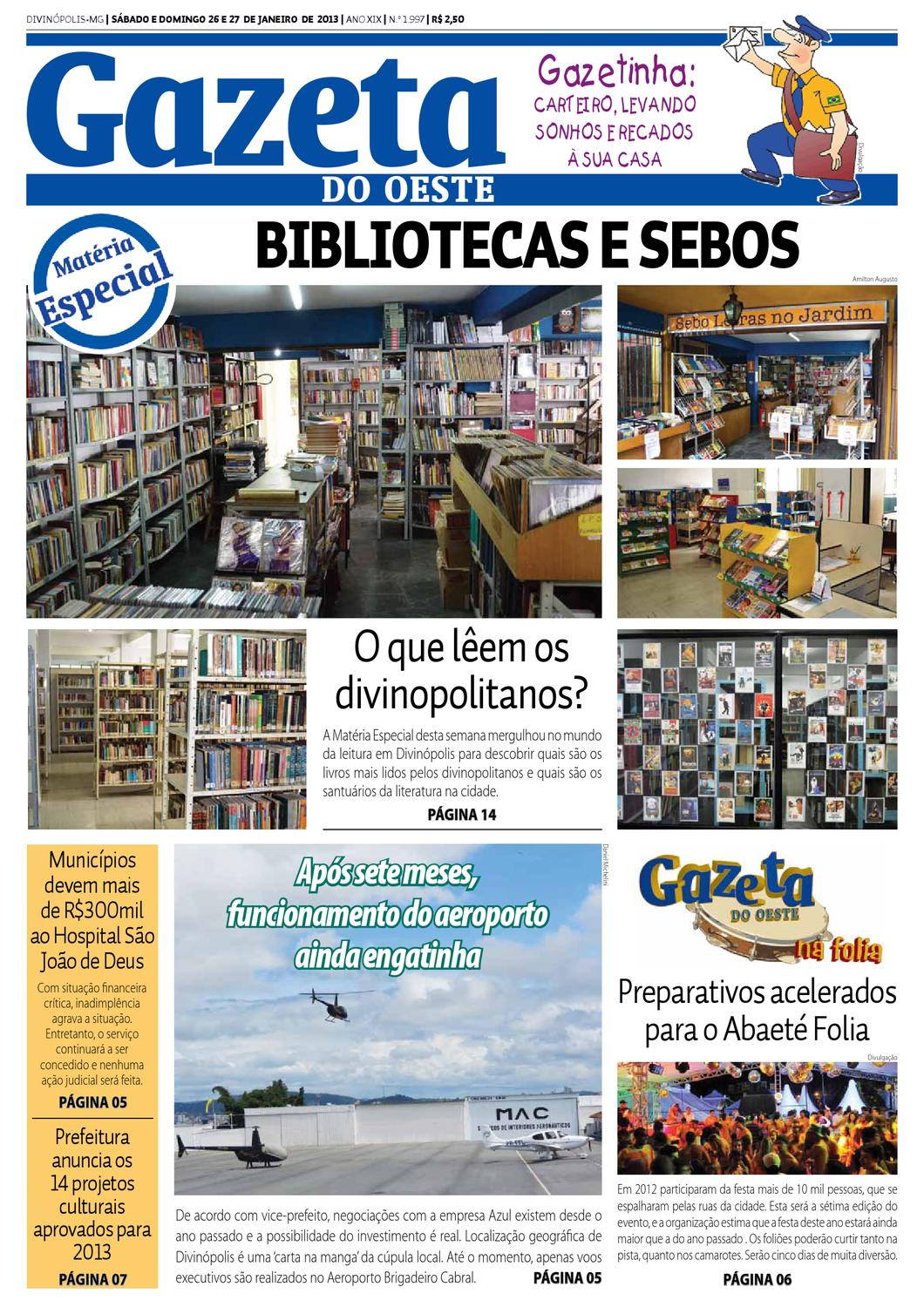 Jornal Gazeta do Oeste by Portal G37 - issuu 68b7203ef3bf9