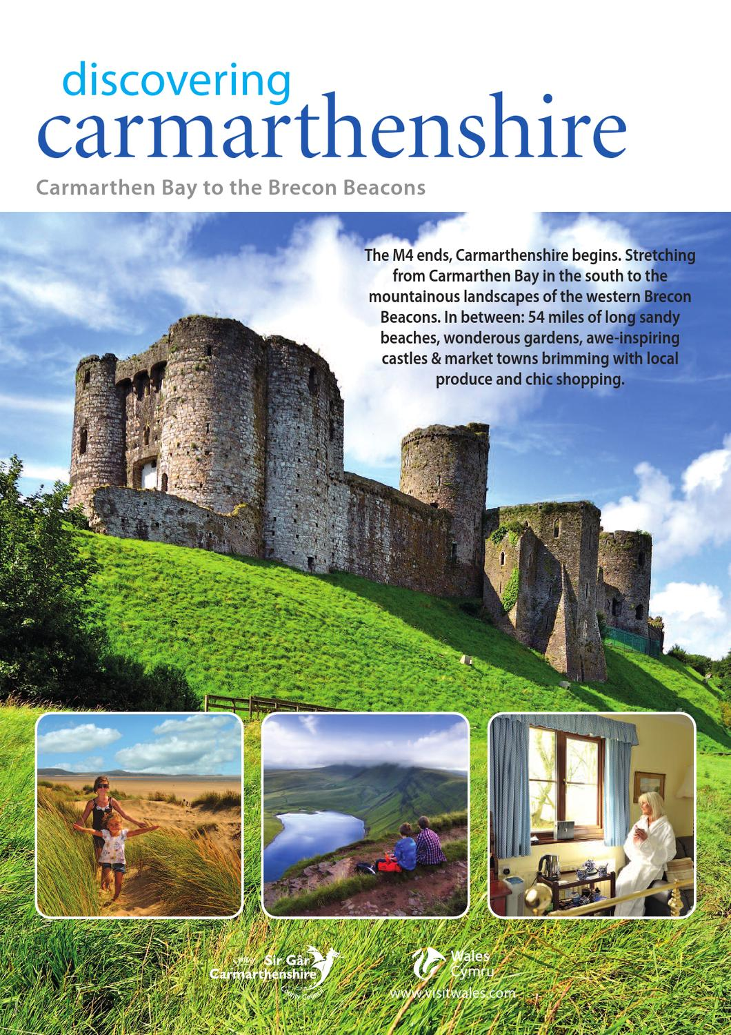 Carmarthenshire Holiday Guide By Discover Carmarthenshire