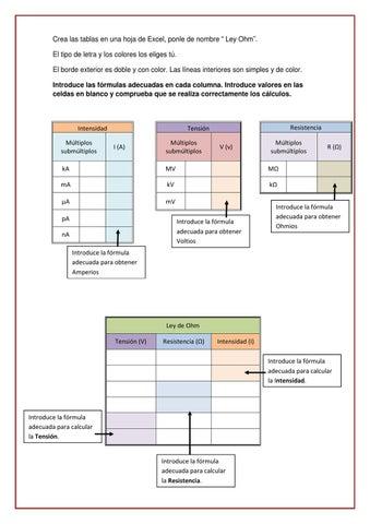 Ejercicios Excel I by Carlos Martín - issuu
